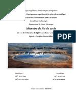 Commande non linéaire d'un système de pompage photovoltaïque_2