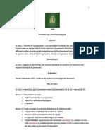 Syllabus Théories de l'Organisation
