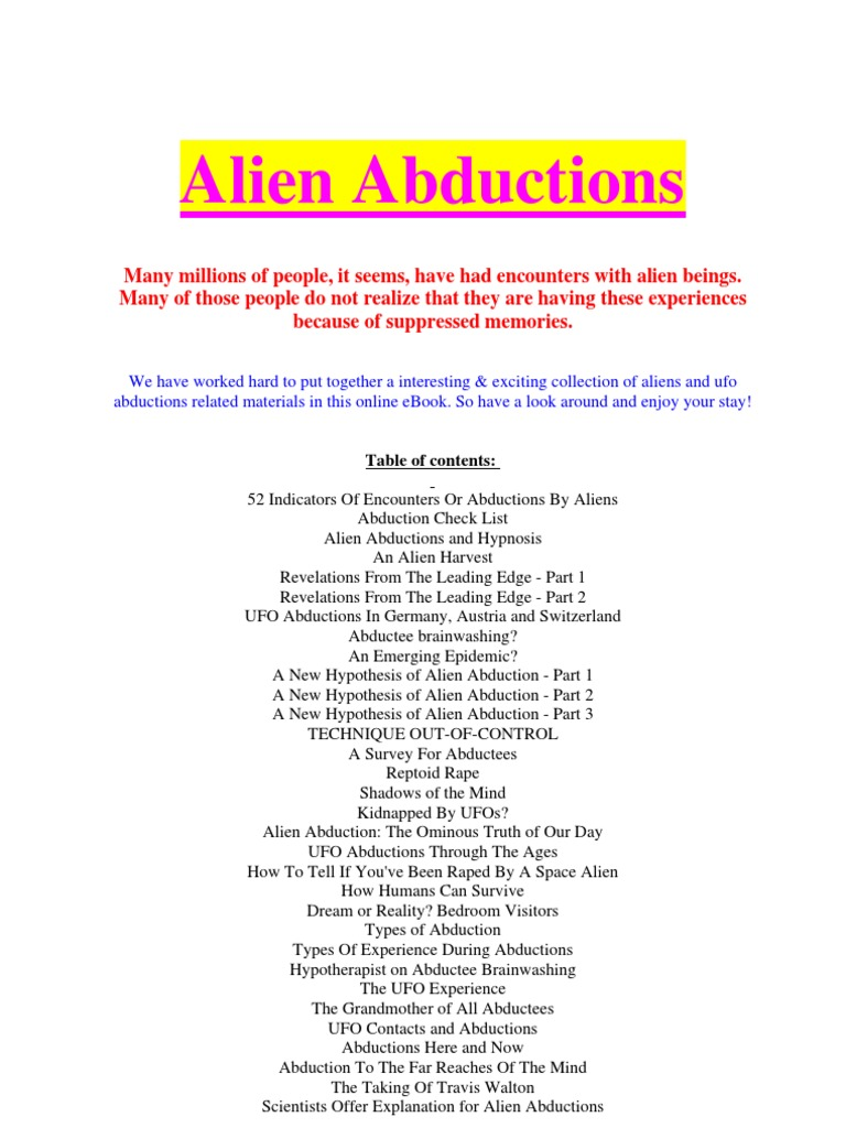 Alien abductions alien abduction genetics fandeluxe Image collections