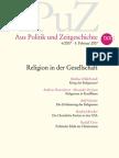 aPuZ_ReligionInDerGesellschaft