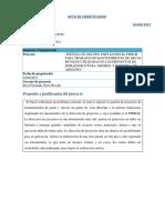 Acta de Constitucion - Grupo 13