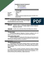 M.R.Barakat CV