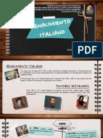 Unidad IV Renacimiento Italiano