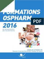 Formation Pharmacien d Officine