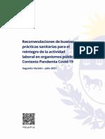 Msp recomendaciones trabajadores públicos