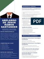 Currículum Abelardo Ramos Santander