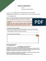 SESIÓN DE APRENDIZAJE PS 27.04