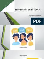 1. Antecedentes TDAH