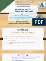 HIPOTESIS, MATRIZ DE OPERACIONALIZACION Y CONSISTENCIA