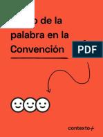 Uso-de-la-palabra-en-la-Convención