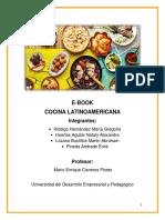 E-book Cocina Latinoamericana