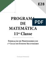 Fdocumentos.com Programa de Matematica 11a Classe Inidecoao Representar Graficamente
