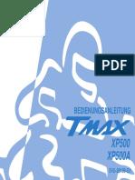 BEDIENUNGSANLEITUNG 5VU-28199-G1 YAMAHA TMAX XP500A