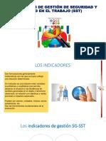 INDICADORES DE gestion de SST 19-08-2020