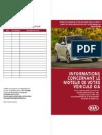 Reglement relatif au moteur Theta II Kia - Brochure d information
