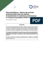 Recommandations OOQ COVID-19 reprise activités_20200423-Final-v1