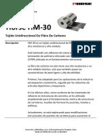 4. HM-30 Tejido de fibra de carbono