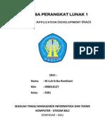Model Rapid Application Development