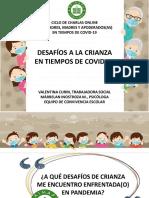 DESAFIOS A LA CRIANZA EN TIEMPOS DE COVID  (CHARLA 3)