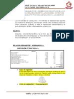 Inventario de herramientas y equipos de construccion - Aquino Castillo Luis