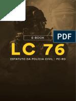 LC 76 Estatuto Da Policia Civil PC RO 1 1
