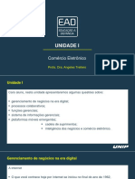 Slides Unidade I - Comércio Eletrônico