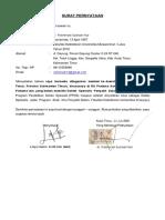 pernyataan kembali(PPDS UB)
