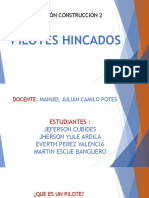 PILOTES  HINCADOS 3 pm