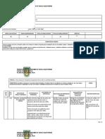 Planeacion didactica Arte y Educación 2018-2