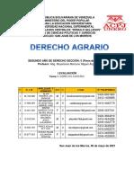 I trabajo de investigación DERECHO AGRARIO G3 IID5 UNERG