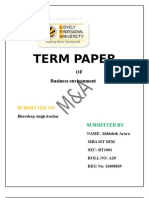 TERM PAPER OF BUSSINESS ENVIRONMENT 1