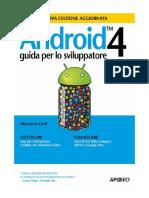 Android 4 - Guida Per Lo Sviluppatore - Apogeo