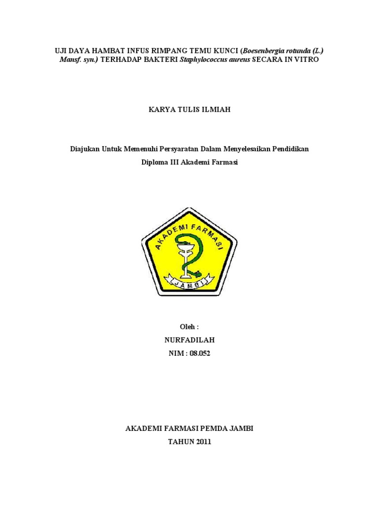 Contoh Proposal Karya Tulis Ilmiah Pdf Berbagi Contoh Proposal