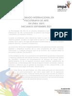 Diplomado IMPA Psicoterapia de Arte septiembre 2021 ambos