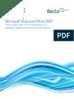 Report on Vista & Office 2007