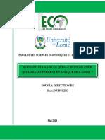 RAPPORT CFA-ECO