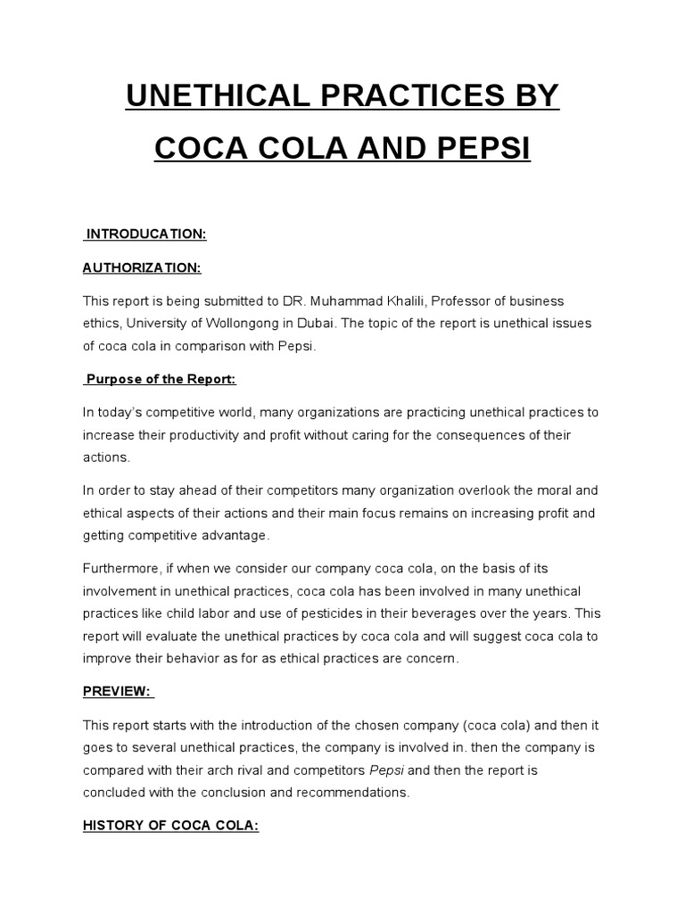 Pepsi vs Coca Cola | Cola | Soft Drink