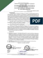 Resolución Cu Nº 1583 2020 Unheval