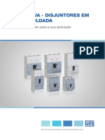 WEG Disjuntores Em Caixa Moldada Dw 50009825 Catalogo Pt