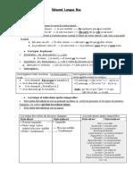 résumé fr langue
