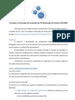 Formação e Certificação de Competências TIC
