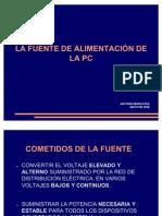 LA FUENTE DE ALIMENTACIÓN DE LA PC