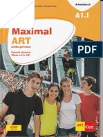 Arbeitsbuch A1.1 MAXIMAL Art