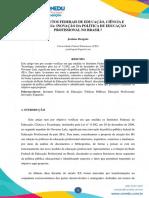 IFB INOVAÇÃO E POLITICA
