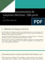 Averías y Mantenimiento de Máquinas Eléctricas - 2da Parte