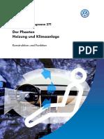SSP271-Der Phaeton-Heizung und Klimaanlage