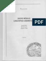 Nuevo Módulo Lingüístico-gramatical COOMPLETO