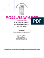 PGSS insurance