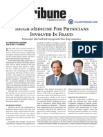 Fraud by health care companies