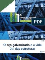 O aço galvanizado e a vida útil das estruturas